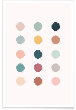 Colour Palette Poster