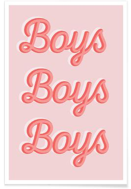 Boys Boys Boys Poster