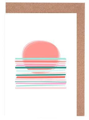 Sunset -Grußkarten-Set