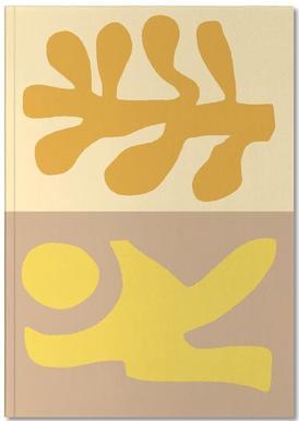 Golden Hair notitieboekje