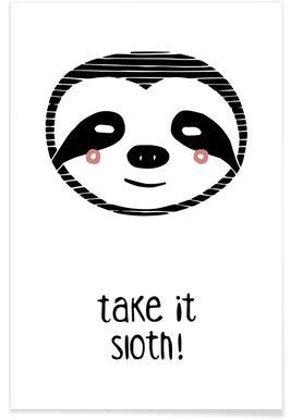 Take it Sloth! Poster