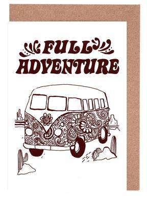 Full Adventure -Grußkarten-Set