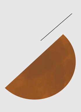 Half Cookie canvas doek