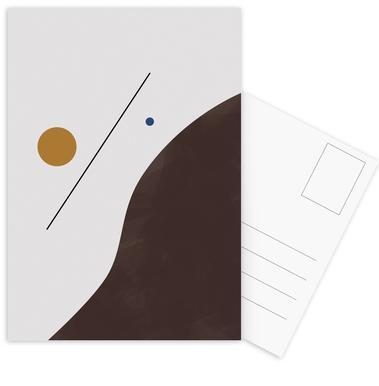 Downhill Postcard Set