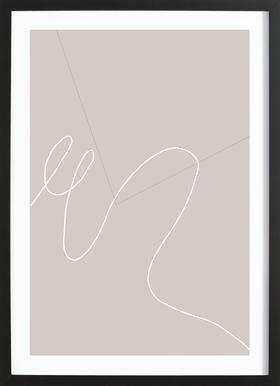 MA Framed Print