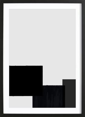 Three Dark Ones Framed Print