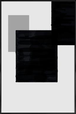 Dark and Brighter ingelijste poster