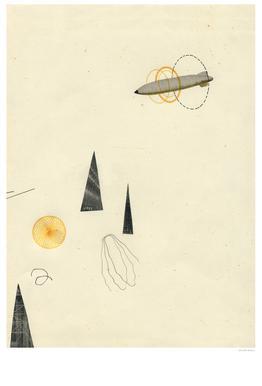 Zeppelin IV alu dibond