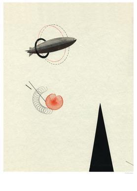 Zeppelin V canvas doek