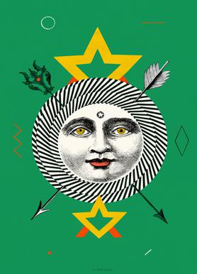 The Sun -Leinwandbild