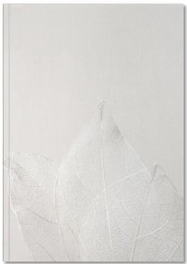 Light Skeleton Leaves Notebook