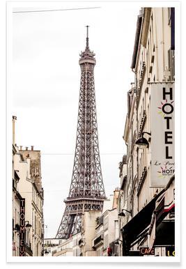 Street View Paris poster