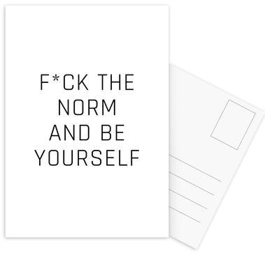 BE YOURSELF ansichtkaartenset