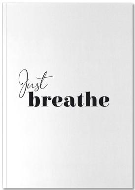 Yoga - Just Breathe Notebook