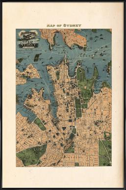 Sydney, Australia, 1922 Framed Poster