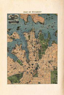 Sydney, Australia, 1922 Aluminium Print