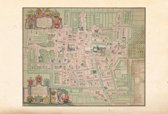 The Hague, Netherlands, 1717 Acrylic Print