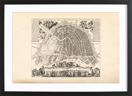 Amsterdam, The Netherlands, 1683 Framed Print