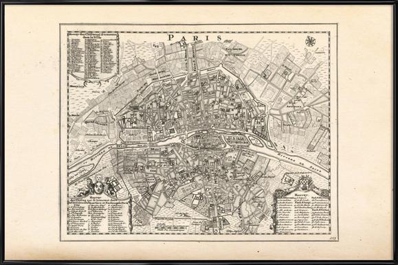 Paris, France, 1702