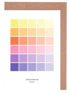 Rainbow wenskaartenset
