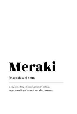 Meraki Acrylic Print