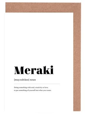 Meraki Greeting Card Set