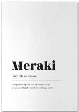Meraki notitieblok