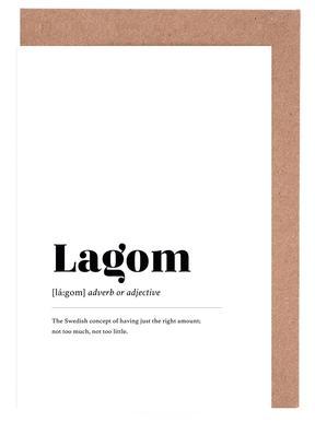 Lagom Greeting Card Set