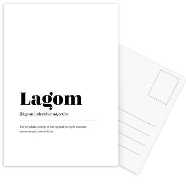 Lagom Postcard Set