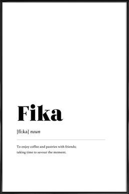 Fika Framed Poster