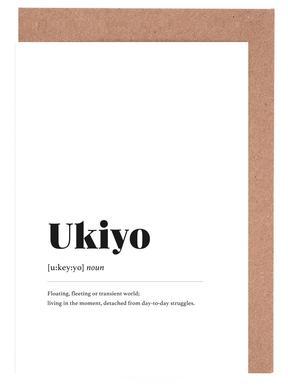 Ukiyo Greeting Card Set