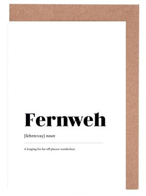 Fernweh Greeting Card Set