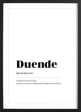 Duende Framed Print