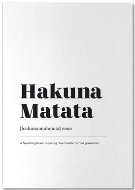 Hakuna Matata Notepad