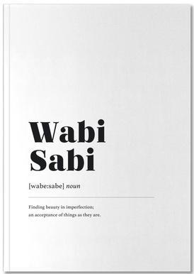 Wabi-Sabi Notebook