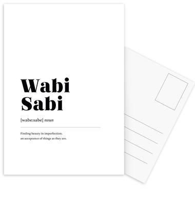 Wabi-Sabi Postcard Set
