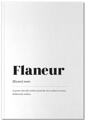 Flaneur Notebook