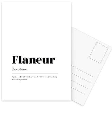 Flaneur cartes postales