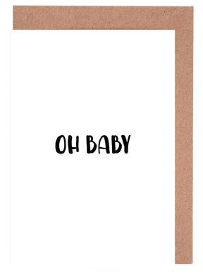 Oh Baby B&W wenskaartenset