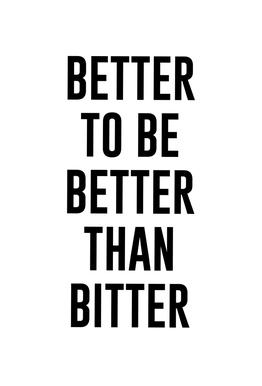 Be Better Acrylic Print
