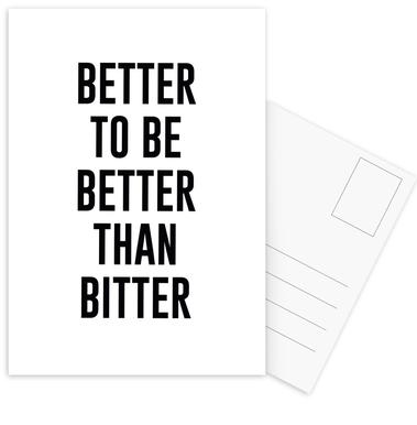 Be Better Postcard Set
