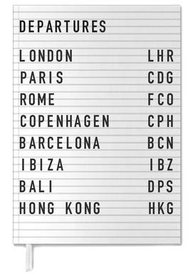 Departure London Personal Planner