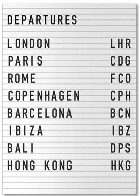 Departure London Notepad