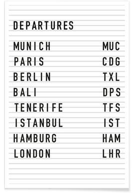 Departure Munich affiche