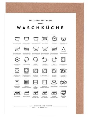 Wäsche Greeting Card Set