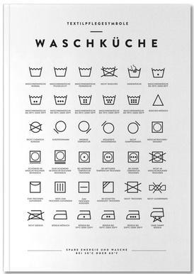 Wäsche Notebook