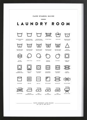 Laundry Framed Print