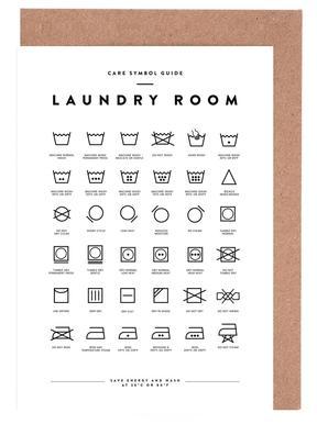 Laundry Greeting Card Set