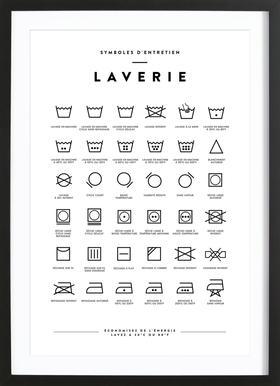 Laverie Framed Print