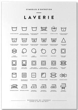 Laverie bloc-notes